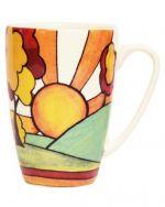 Sunburst Classic Queens by Churchill China Rowan Mug