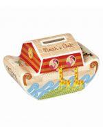 Churchill Little Rhymes Noah's Ark Shaped Money Box