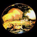 Coalport Harvest Time English Masterpieces Collectors Plate