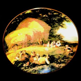 Coalport Harvest Time English Masterpieces Collectors Plate