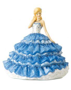 Debutante Ball HN5832 Royal Doulton Crystal Ball Pretty Ladies Figurine