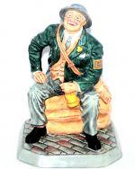 Air Raid Precaution Warden Royal Doulton Nostalgia Character Figurine HN4555