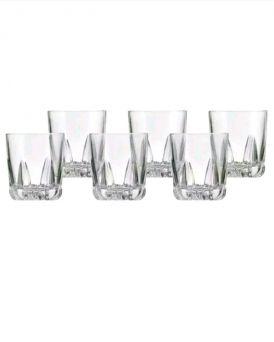 Royal Doulton Belverdere Crystal Glass Tumbler Set of 6