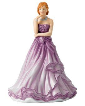 Cheryl HN5722 Royal Doulton Petites Pretty Ladies Figurine