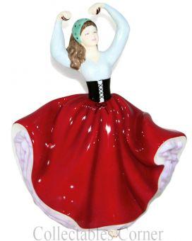 Karen HN4779 Royal Doulton Petite Pretty Ladies Figurine