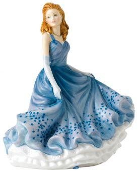 Thoughtful Dreams HN5851 Royal Doulton Sentiments Petites Figurine