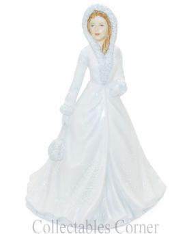 White Christmas Royal Doulton Songs of Christmas Figurine HN5608