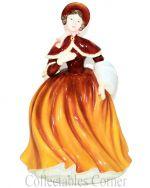 Autumn Joy Royal Doulton Four Seasons Pretty Ladies Figurine HN4852