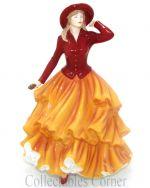 Autumn Walk Royal Doulton Seasons Pastimes Pretty Ladies Figurine HN5257