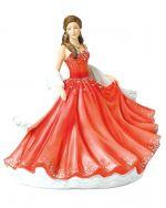 Elegant Waltz Royal Doulton Crystal Ball Pretty Ladies Figurine HN5885