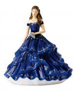 Grand Soiree Royal Doulton Crystal Ball Pretty Ladies Figurine HN5886