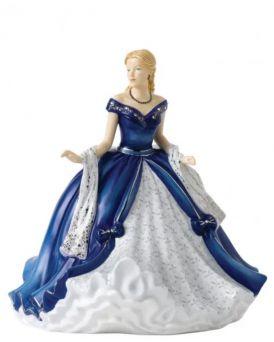 Midnight Sonata HN5832 Royal Doulton Crystal Ball Pretty Ladies Figurine