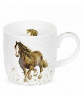 Royal Worcester Wrendale Designs Gigi Mug 8.5 x 8 cm