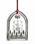 Nine Ladies Waterford Lismore Crystal Glass Tree Ornament.