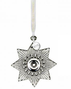 Waterford Mini Star Ornament Crystal Glass Tree Ornament.