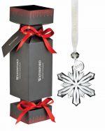 Waterford Mini Snowflake in Cracker Tree Ornament.