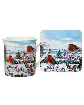 Robins Mug & Coaster Set The Macneil Studio