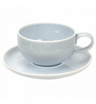 Portmeirion Choices Blue 12fl oz Cup and Saucer Set of 2