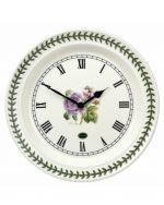 Portmeirion Botanic Roses 10 Inch Wall Clock Lilac Rose