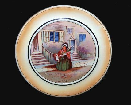 Grimwades Mrs Gamp Vintage Dickens Souvernir Plaque-Plate- Cake Stand