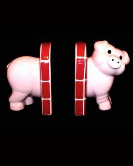 Carlton Ware Pig Shape Book Ends