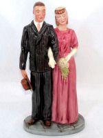 The Civilian Wedding HN5022 Royal Doulton Prestige Collection Figurine