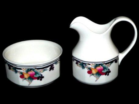 Royal Doulton Autumn Glory Milk / Cream Jug & Sugar Bowl LS1086 New