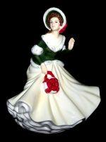 Christmas Day 2008 HN5210 Royal Doulton Petite Christmas Annuals Figurine