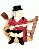 Royal Doulton Gamekeeper And Poacher Character Teapot D7175
