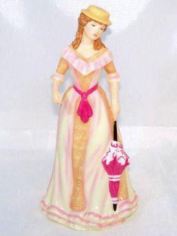 Spring HN5321 Royal Doulton Four Seasons Pretty Ladies Figurine