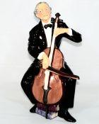 The Cellist Royal Doulton Character Studies Vintage Classic Figurine HN2226