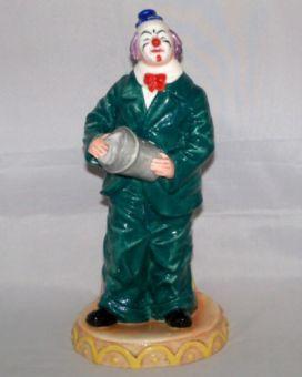 Royal Doulton WILL HE-WON`T HE? Classic Clowns Figurine HN 3275
