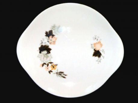 Royal Doulton WESTWOOD English Translucent Fine Bone China Handed Cake Plate 10.25