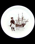 Wedgwood Standish/Mayflower Queens Ware Compotier 5000