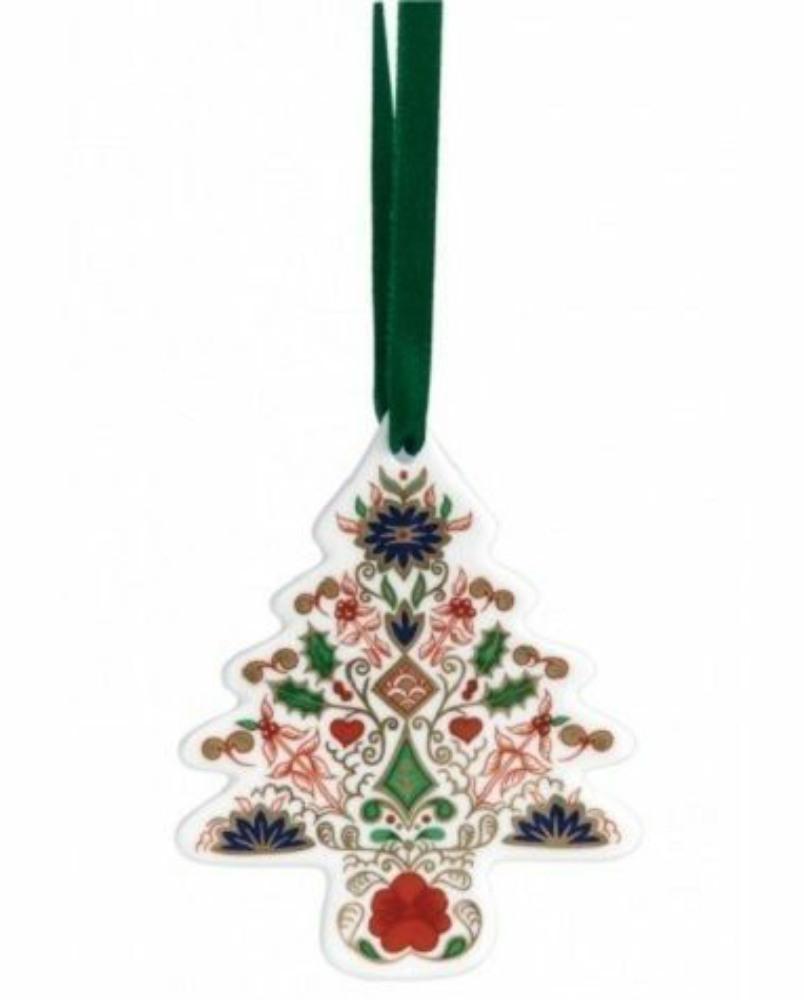 Royal crown derby tree christmas tree decoration royal for Christmas crown decoration