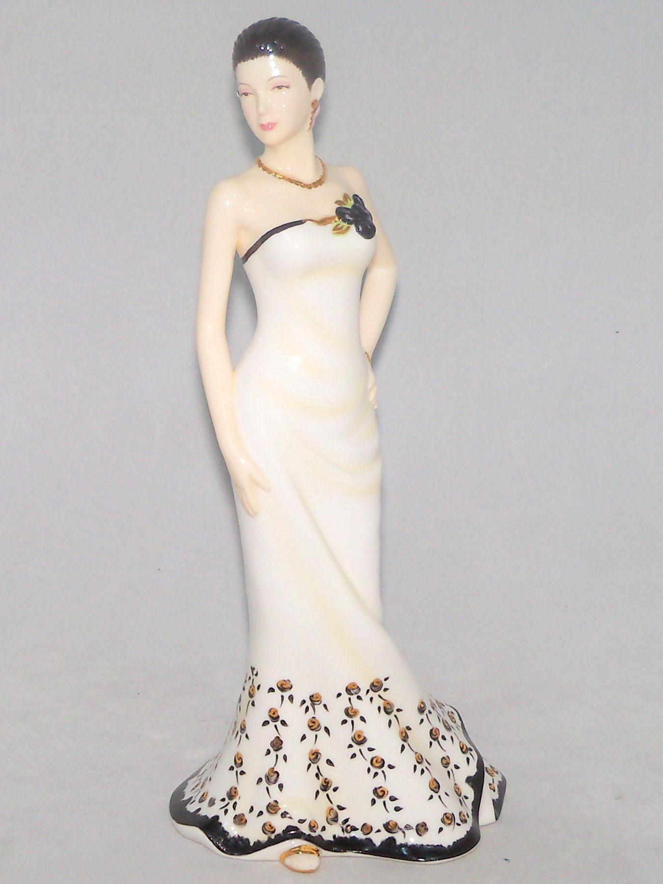 Pretty Ladies Trendy Short Hairstyles 2016: Royal Doulton LAUREN Pretty Ladies Figurine HN4923